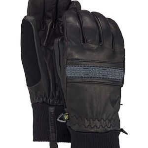 Burton Leather gloves Women NWT medium